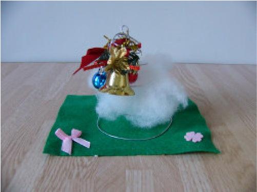 手芸作品 クリスマスツリーのイメージ画像